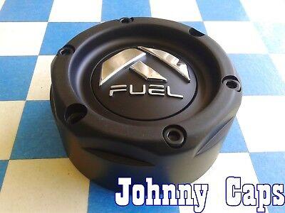 FUEL Wheels [72] MATTE BLACK Center Caps # 1003-42MB Custom Wheel Center Cap - Mb Wheels 72 Wheel
