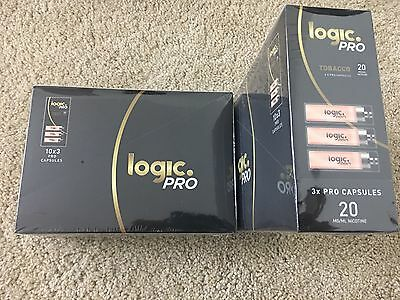 Boxes Logic Pro Refills 20Mg All New Expiration  30 Count