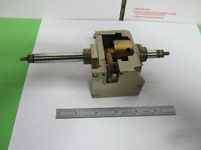 Microscope Part Polyvar Reichert Leica Stage Mechanism As Is Binp1-16