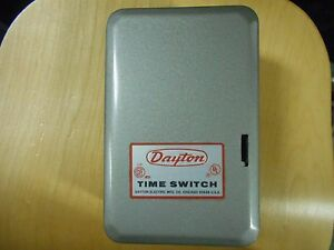 dayton time switch model 2e220 sprinkler control ebay. Black Bedroom Furniture Sets. Home Design Ideas