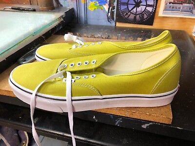 Cress Green (Vans Authentic Cress Green/True White Size US 13 Men's VN0A38EMU61)