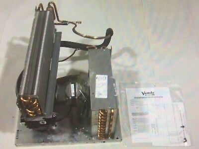 Soda Cooler Refrigeration System Complete Operational Sanden Vendeo 13hp