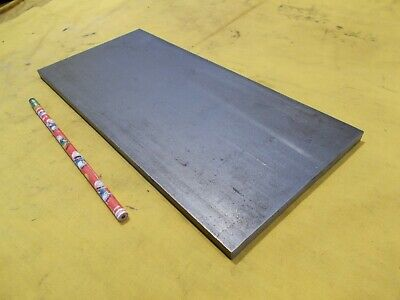 1018 Cr Steel Flat Bar Stock Tool Die Rectangle Plate 38 X 5 12 X 12 Oal