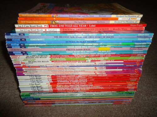 Lot 50 Level 2 Step Into Reading Ready-to I Can Read DK Reader Home School