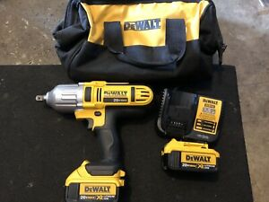 "Dewalt 1/2"" 20 volt XR lithium Impact Gun. Like new"