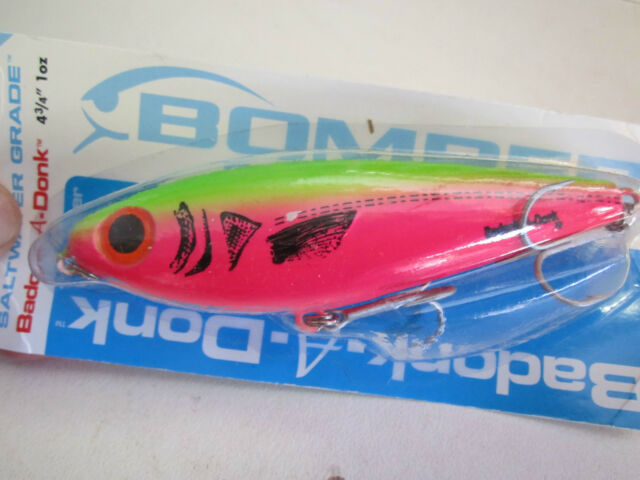 "Bomber Badonk-A-Donk 4 3/4"" HP  fishing lure NIP great on Barra"