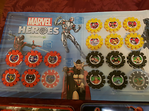 Marvel disc collection (unfinished) Helensvale Gold Coast North Preview