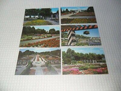 Vintage : lot de 6  cpa  Canada Montréal jardin Botanique  non postées.