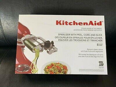 KitchenAid Spiralizer Attachment, Fits All KitchenAid Stand Mixer Models KSM1APC