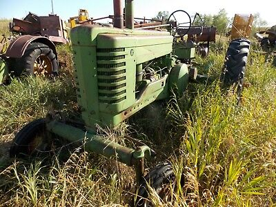 Antique Model A Wide Front Tractor