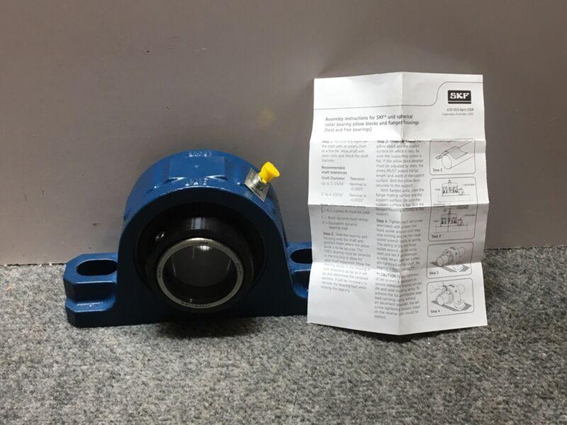 "SKF Pillow Block Roller Bearing SYR 1.15/16"""