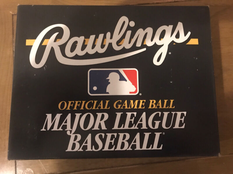 1 DOZEN SEALED MLB RAWLINGS OFFICIAL NATIONAL LEAGUE BASEBALLS  ALLEN H SELIG