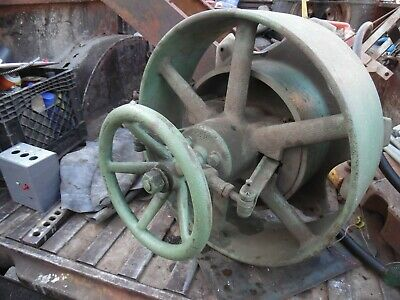 Large Ihc Clutch Pulley Titanfamousmogel Gas Engine Old Motor Part