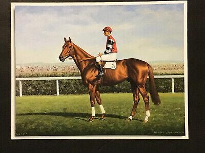NEW SMARTY JONES MINIATURE FIGURINE HAND PAINTED HORSE RACING JOCKEY SILKS