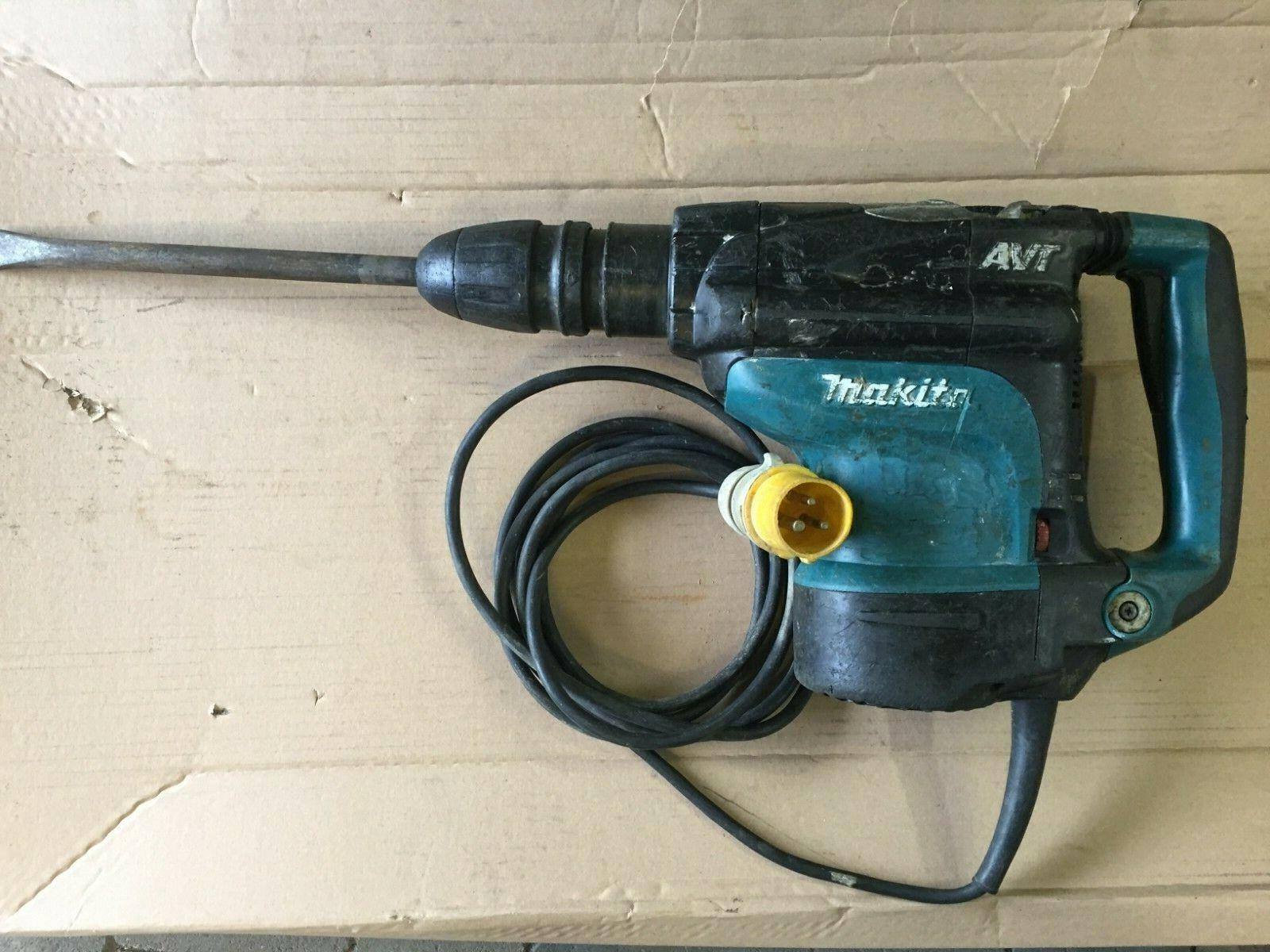 Makita HR4511C Bohrhammer Abbruchhammer 110 Volt 1350 Watt