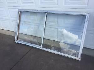 Window Aluminium 97h x 184w