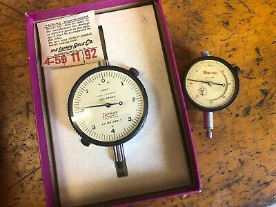 Lufkin Usa Dial Indicator J3-b4-020-1 .020 Range X .0001 Excellent In Box