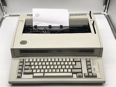 Vintage Ibm Personal Wheelwriter 2 Electric Typewriter By Lexmark 6781-018 Works