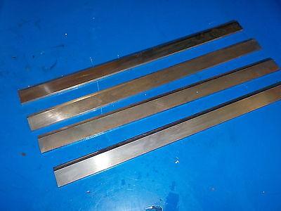 Planer Knives Set Of Four Great Shape Fresh Sharpened Razor Sharp 14-12