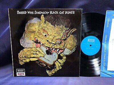 Black Cat Bones - Barbed Wire Sandwich 1970 U.K. DECCA First issue HARD - Black Cat Bones