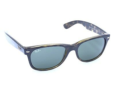 6eb8e1dc6a931  107.61 - Ray-Ban Sunglasses RB2132 NEW WAYFARER 902 58 55-18 145 Shiny  Havana Green Lens