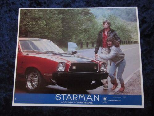 Starman lobby card # 3 - Jeff Bridges, Karen Allen, John Carpenter