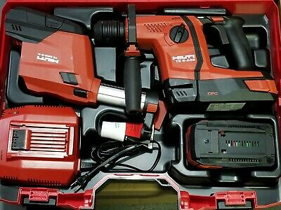 Hilti Te 6-a36 Avr 36v Cordless Rotary Hammer Drill Kit Brand New.