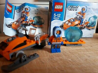 LEGO City 60032 - Arctic Snowmobile  Complete with Instructions