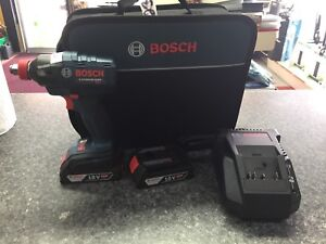 Impact wrench bosch 1/2 +2 batteries +chargeur NEUF
