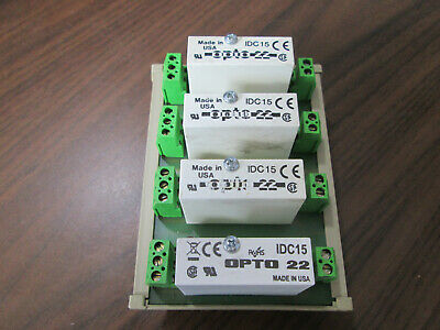 Altech Ad90009 Relay Module Backplane With Base Opto 22 Idc15 Modules