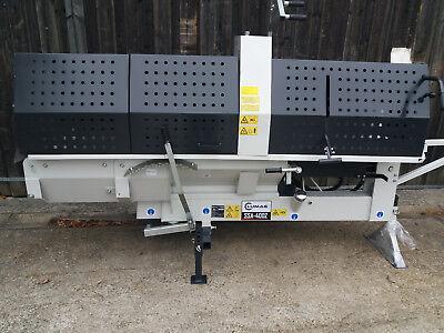 LUMAG SSA-400Z Zapfwellen Sägespaltautomat, Holzspalter +Säge+Förderband f Holz
