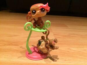 Littlest Pet Shop Pet Pairs Monkeys #56, 57 (2006)