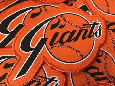 San Francisco Giants Large Retro Patch w/ Border