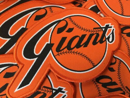 San Francisco Giants Large Retro Patch w/ Border