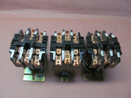 3- NEW FURNAS  42BD107079 4 POLE 30 AMP CONTACTORS 24 VDC COILS