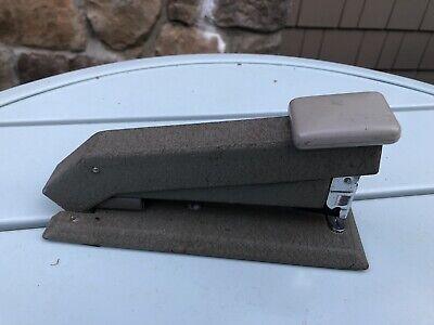 Vintage Heavy Duty Front Load Bostitch B5b Office Desk Stapler Gray