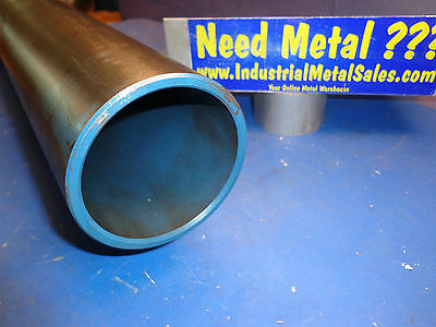4 Od X 24-long X 14wall Dom Steel Round Tube -4 Od Dom X.250