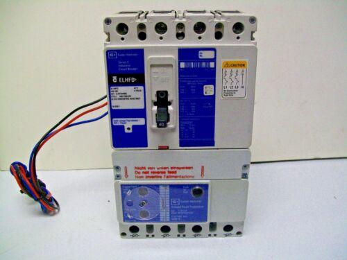 Eaton Cutler Hammer ELHFD4080L Earth Leakage Circuit Breaker 4 Pole 80 Amp 480V