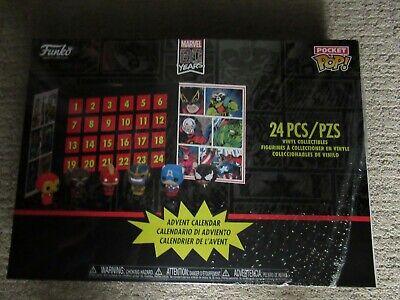 Funko Pocket Pop * Marvel Advent Calendar * 24 Piece Countdown to Christmas New