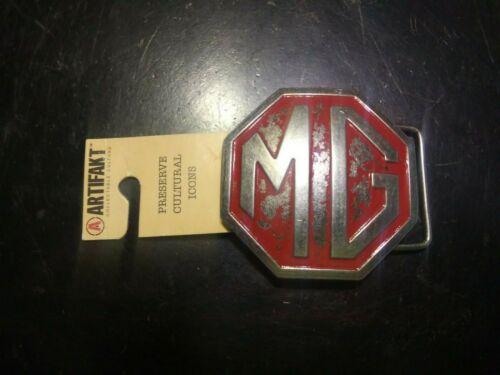 MG Midget Morris Garages British Car metal 2 1/2 inch Artifakt Belt Buckle NEW
