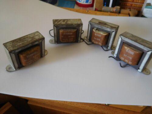 REDUCED Vintage Stancor C-2328  Filter Choke  ( Lot of 4)