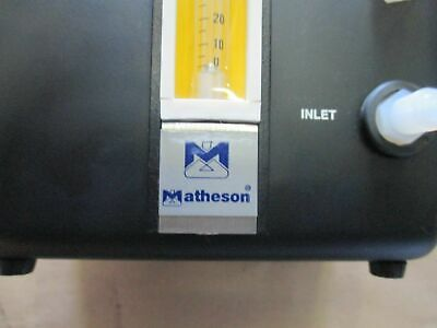 Particle Measuring Systems Matheson Fc-100 Di Water Flow Controller Meter Up