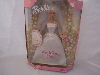2002 Barbie Wedding Day with Wedding Invitation - NRFB !!
