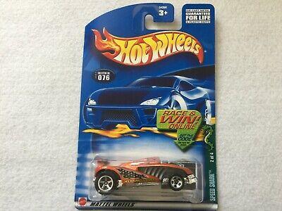 Speed Shark Collector #076 Hot Wheels