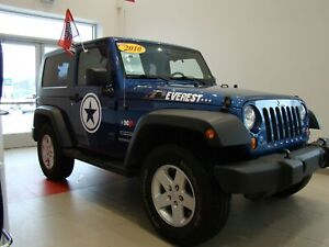 2010 Jeep Wrangler Sport 2 TOITS + AIR + Automatique