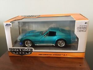 Jada 1/24th Corvette Die-Cast Cars