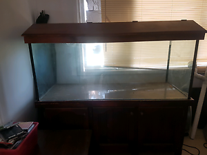 fish tank with lights Ravenswood Murray Area Preview