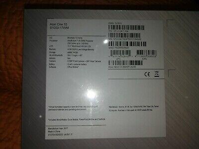 Acer one 10 s1003 Nuovo Imbustato