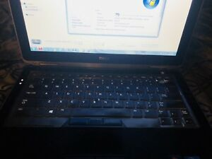 Dell laptop i7 8gb ram 128gb ssd 320gb harddrive