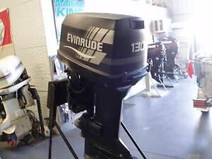 Evinrude 130hp V4 25inch leg Outboard Motor Lonsdale Morphett Vale Area Preview